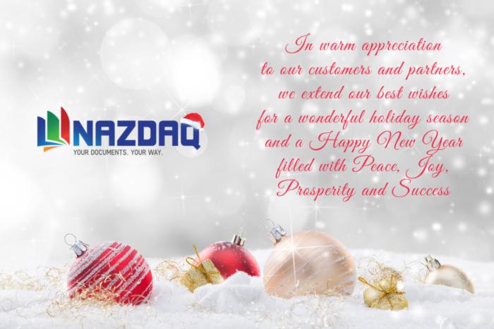 NAZDAQ Best wishes