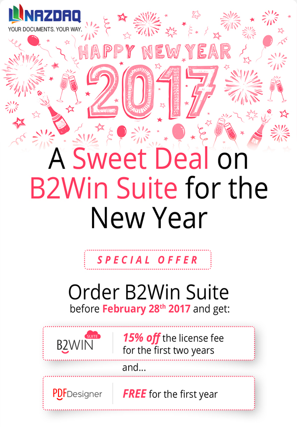 Sweet Offer from NAZDAQ until Feb 28, 2017