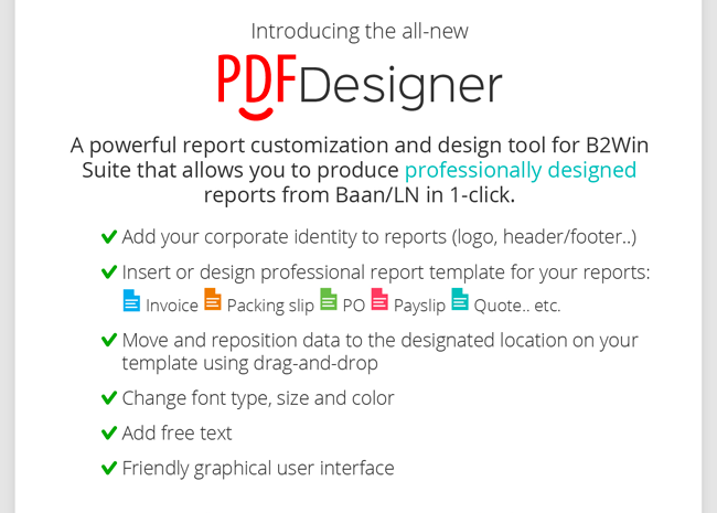 Introducing the All-new PDF Designer