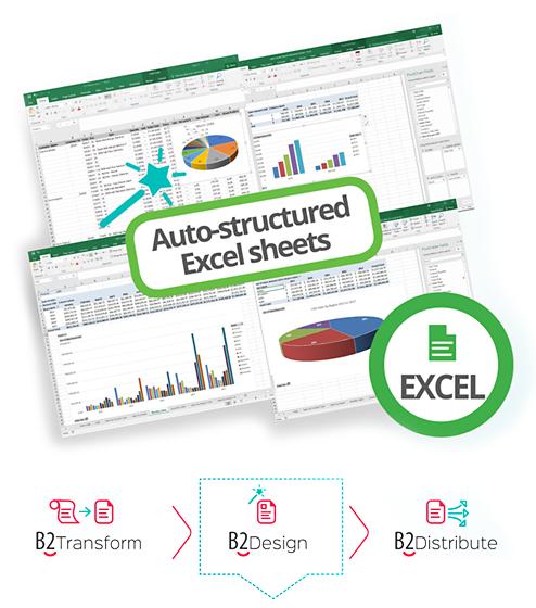 B2Design Structured Excel Sheet