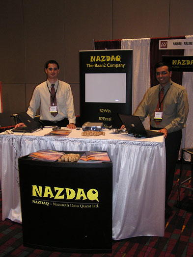 NAZDAQ presents at the BWU Conference in Charlotte, NC