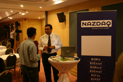 NAZDAQ presents at the SSA Global Event in Istanbul, Turkey
