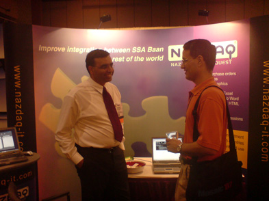 NAZDAQ presents at the SSA Global Users Conference in Anaheim, California - 1