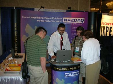 NAZDAQ presents it products in Dallas, TX in SSA Global Users Conference