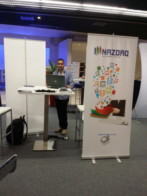 NAZDAQ sponsors an Infor event Paris - 1