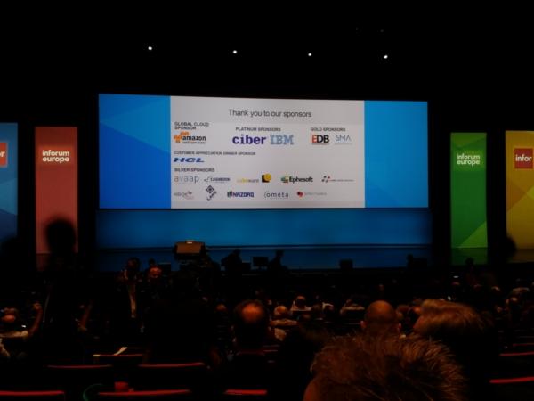 NAZDAQ sponsors an Infor event Paris - 3