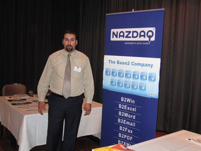 NAZDAQ takes part in the Dustch Baan Users Group - 2