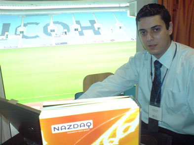 NAZDAQ takes part in the UK and Ireland Baan Users Conference held at the Ricoh Arena in Coventry - 1