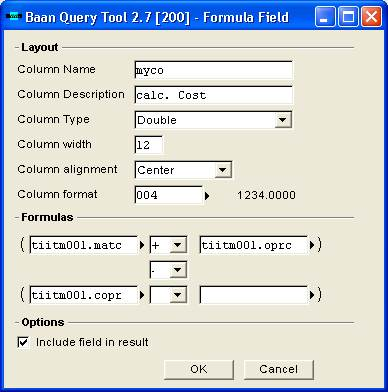 bQuery-Tool Interface