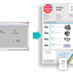Print pretty customer facing documents from Infor LN or Baan ERP