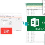 ERP to Excel Templates example